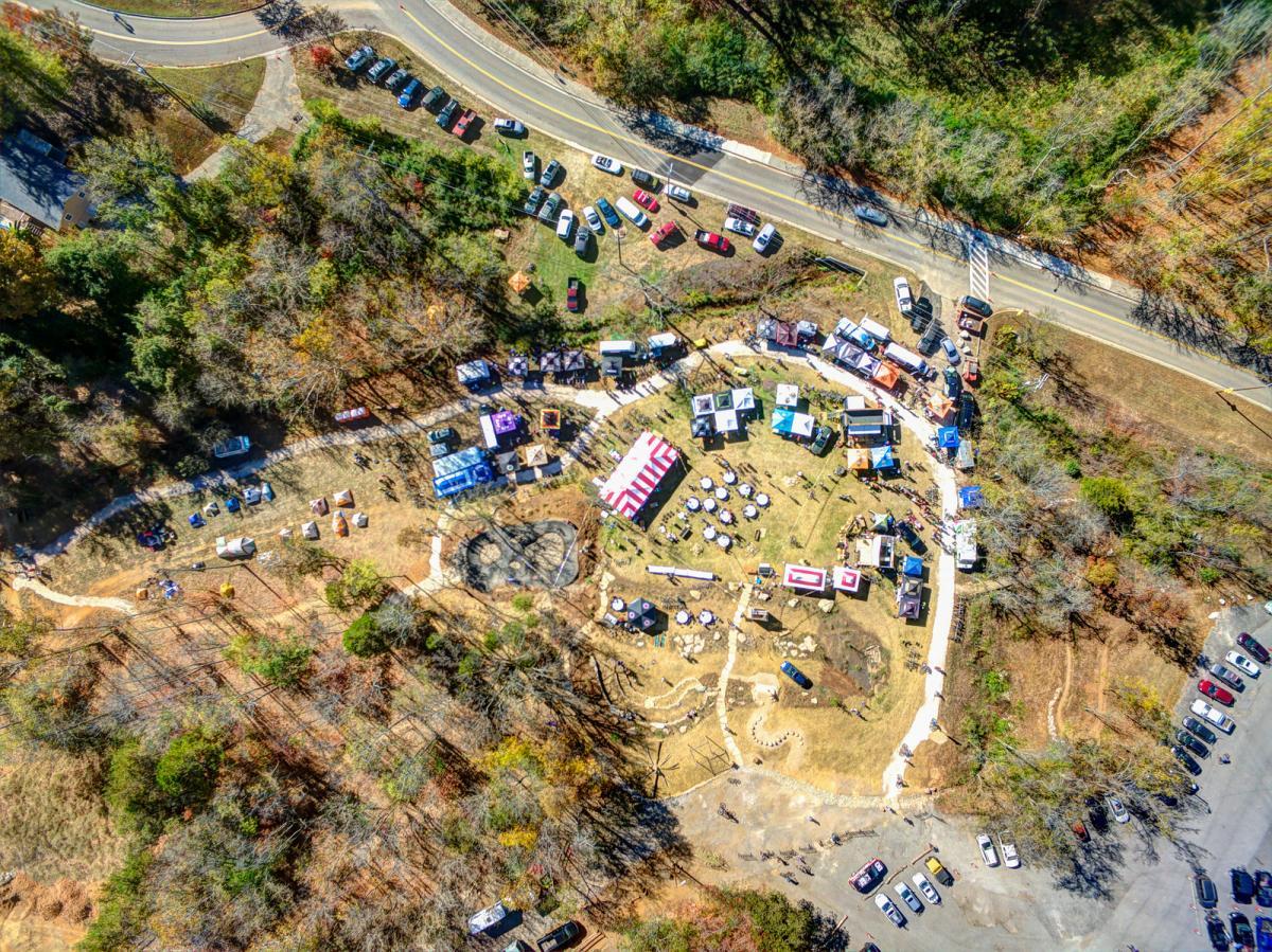 AMBC Fall Festival aerial photo